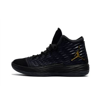 Jordan Melo M13 Black/Metallic Gold-Anthracite 881562-004 For Sale