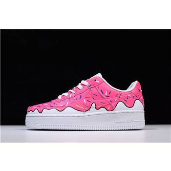 Custom Sneaker BOYZ x Nike Air Force 1 Low Pink White Women's Size 596728-818