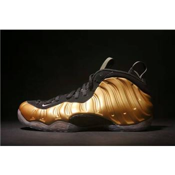 Nike Air Foamposite One Metallic Gold Metallic Gold/Black 314996-700