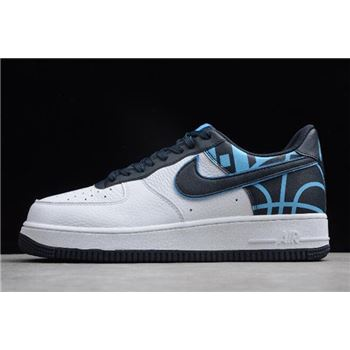 Nike Air Force 1 '07 LV8 White/Dark Obsidian 823511-105
