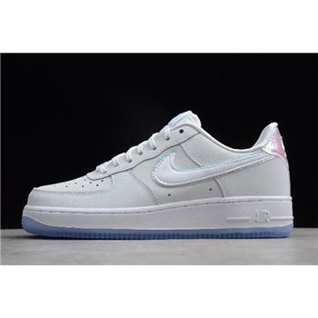 Nike Air Force 1 '07 Premium White/Blue Tint 616725-105