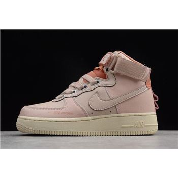 Women's Nike Air Force 1 High Utility Particle Beige/Terra Blush-LT Cream AJ7311-200
