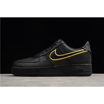Nike Air Force 1 Low Premium iD Black Mamba Black Yellow AQ9763-991