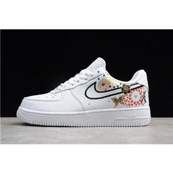 Nike WMNS Air Force 1 '07 CNY QS LNY White/Habanero Red AJ8298-100